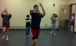 Austin H teaching Inertia Dance TRY IT