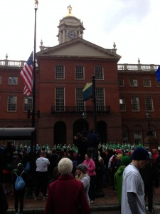 Sandy Hook Race- state house