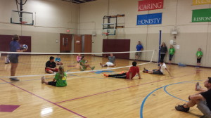 Adaptive volleyball